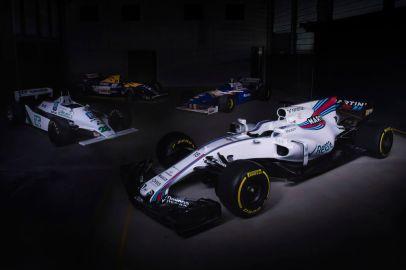 Williams Martini Racing FW40 Mercedes Launch.