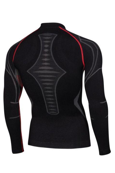 SPAIO_Moto_Extreme_Man_Long_Sleeve_Shirt_W02_black_red_rear