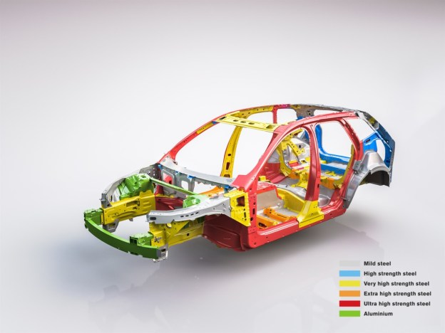 The new Volvo XC60 - Body structure (with text)