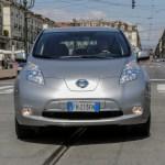 Nissan LEAF al servizio della città di Torino