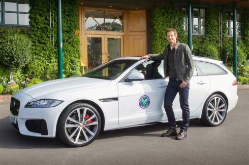 Andy Murray_Jaguar XF Sportbrake