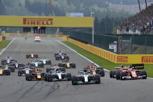 G.P. BELGIO F1/2017 start