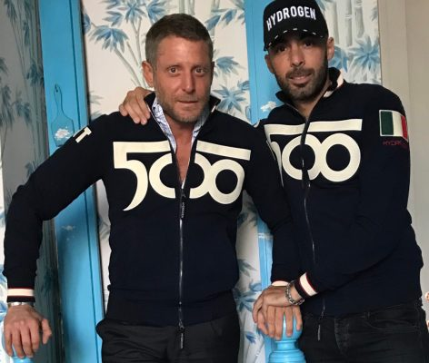 alberto bresci and lapo elkann hydrogen by 500 - 2