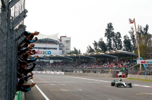 2017 Mexican Grand Prix mercedes hamilton