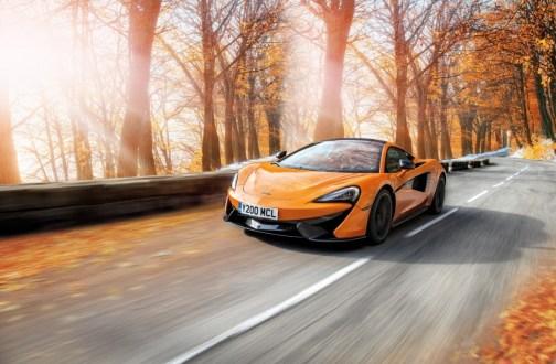 McLaren Pirelli winter