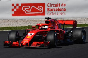 F1 Testing Day Two