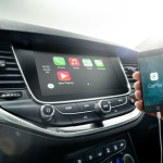 Opel Astra with Apple Car Play
