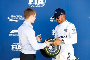 Pirelli Pole Position Award – 2018 British Grand Prix – 2