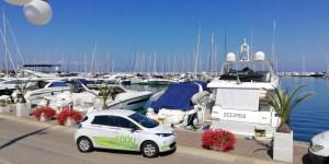 Renault ZOE a Punta Ala