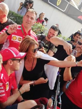 Museo Nicolis, F1 Sebastian Vettel e Silvia Nicolis (3)