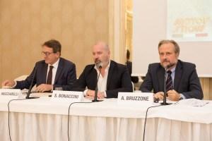 1-relatori da sinistra Muzzarelli, Bonaccini, Bruzzone