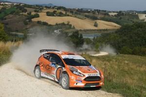 Simone Campedelli, Tania Canton (Ford Fiesta R5 #3, Orange1 Racing)