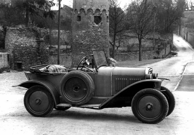Laubfrosch 4/12 PS, Cabrio, 1924-1926