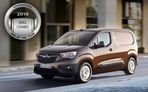 Opel Combo – International Van of the Year 2018