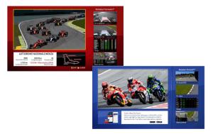 mosaici F1 e motoGP