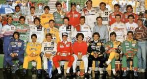piloti F1 1989