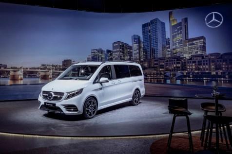 Vorstellung der neuen Mercedes-Benz V-Klasse 2019Presentation of the new Mercedes-Benz V-Class 2019