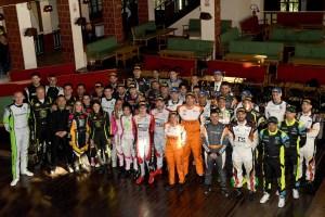 foto di gruppo equipaggi iscritti al Campionato Italiano Rally 2019
