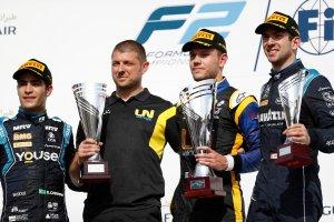 podio F2 gara 2