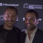 Serata apertura BNL Italia – Stefano Accorsi e Salvatore Internullo Direttore Bramd Peugeot. Italia(2)
