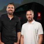 Battista simulator, Rene Wollmann and Nick Heidfeld 1