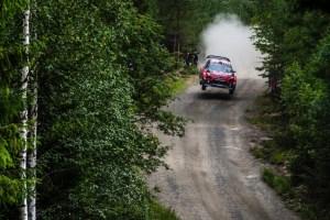 Citroe¦ên Racing Rally Finlandia Giorno 1 (3)