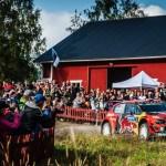 La Citroe¦ên C3 WRC dell'equipaggio finlandese conquista il secondo posto al Rally di Finlandia (3)