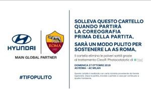 Hyundai #TifoPulito Cartoncino
