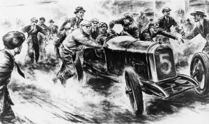 PEUGEOT L25 VITTORIOSA ALLA TARGA FLORIO DEL 1919