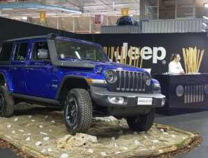 stand Jeep