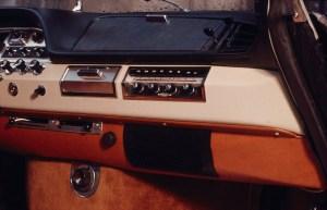 Compie 50 anni il progetto della nuova plancia delle DS_Dettaglio plancia di bordo DS 1961-1968
