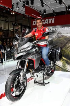Ducati EICMA 2019 - Danilo Petrucci, Multistrada 1260 S Grand Tour