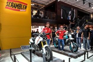 Ducati EICMA 2019 - Danilo Petrucci, Andrea Dovizioso, Ducati Scrambler concept bikes