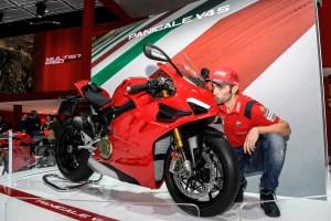 Ducati EICMA 2019 – Michele Pirro, Panigale V4 S
