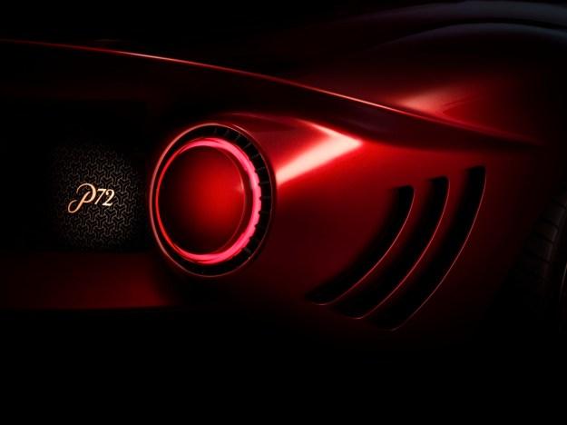 De-Tomaso-P72-Rear-Light