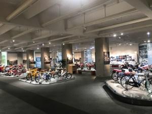 Honda Collection Hall view