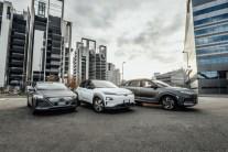 Hyundai IONIQ EV, Kona EV, NEXO