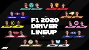 piloti f1 2020