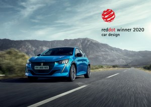 IL RED DOT AWARD 2020 A PEUGEOT 208