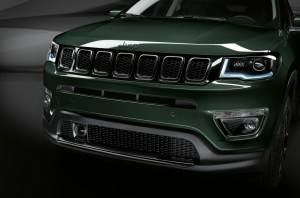 2. Dettaglio Frontale Jeep Compass Limited