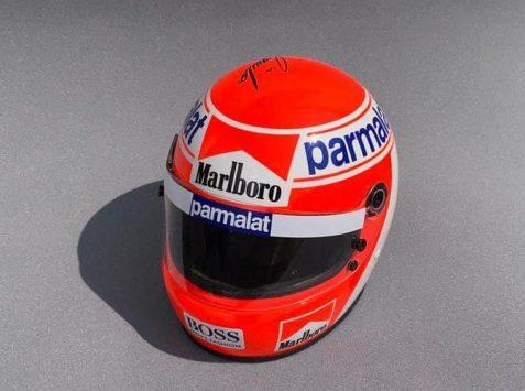Niki Lauda - Casco