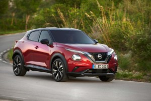 New Nissan JUKE hits the road in Barcelona