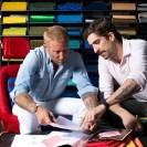 Lapo Elkann and Carlo Borromeo working on the Big Bang Millennial Pink (2)