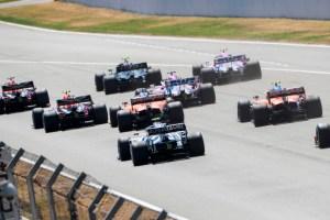 2020 Spanish GP start