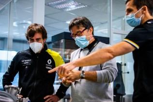AUTO - FERNANDO ALONOS VISITS VIRY-CHATILLON