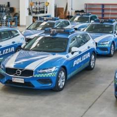 Volvo V60 Station Wagon in speciale allestimento Polizia