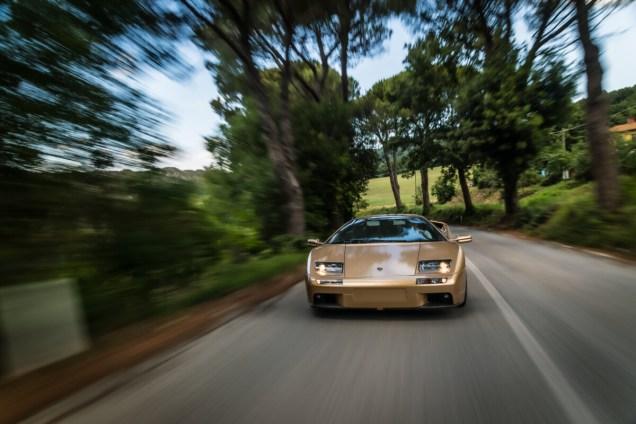 Lamborghini Diablo 6.0 SE 2001 in Tuscany 2020 Day 2
