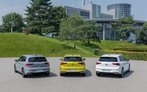 The new Volkswagen Golf 1.0 eTSI, Golf eHybrid and Golf GTE