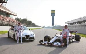 06 Giulia GTAm, C41, Antonio Giovinazzi and Kimi Räikkönen