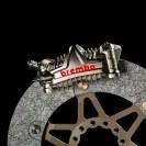 Brembo_impianto frenante con disco carbonio e pinza GP4_MotoGP